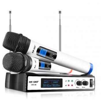 SAST先科 OK-40 無線麥克風話筒卡拉OK