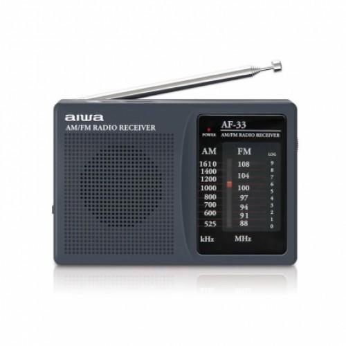 AIWA 愛華AF-33袖珍型調頻 / 調幅收音機
