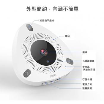 360智能攝像機 IPCAM D688
