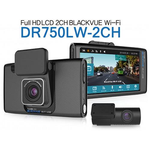 Blackvue DR750LW-2CH WIFI LCD觸屏前後鏡行車記錄儀