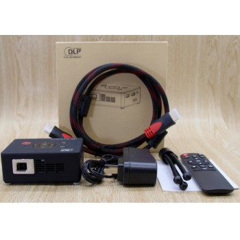EYEMEGA 微型投影機C2W  無線手機WIFI連接高清1080p
